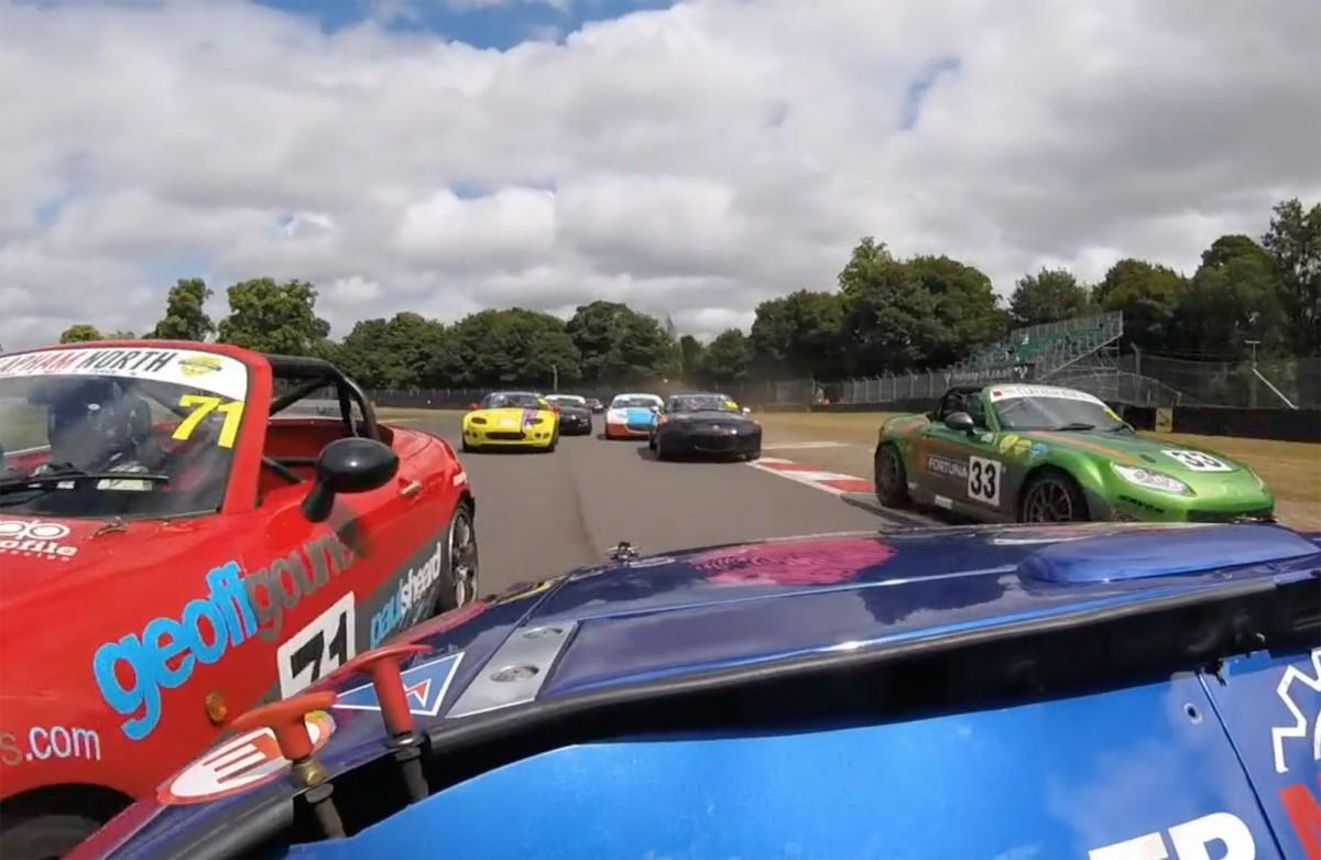 BRSCC Mazdas Oulton Park 2018
