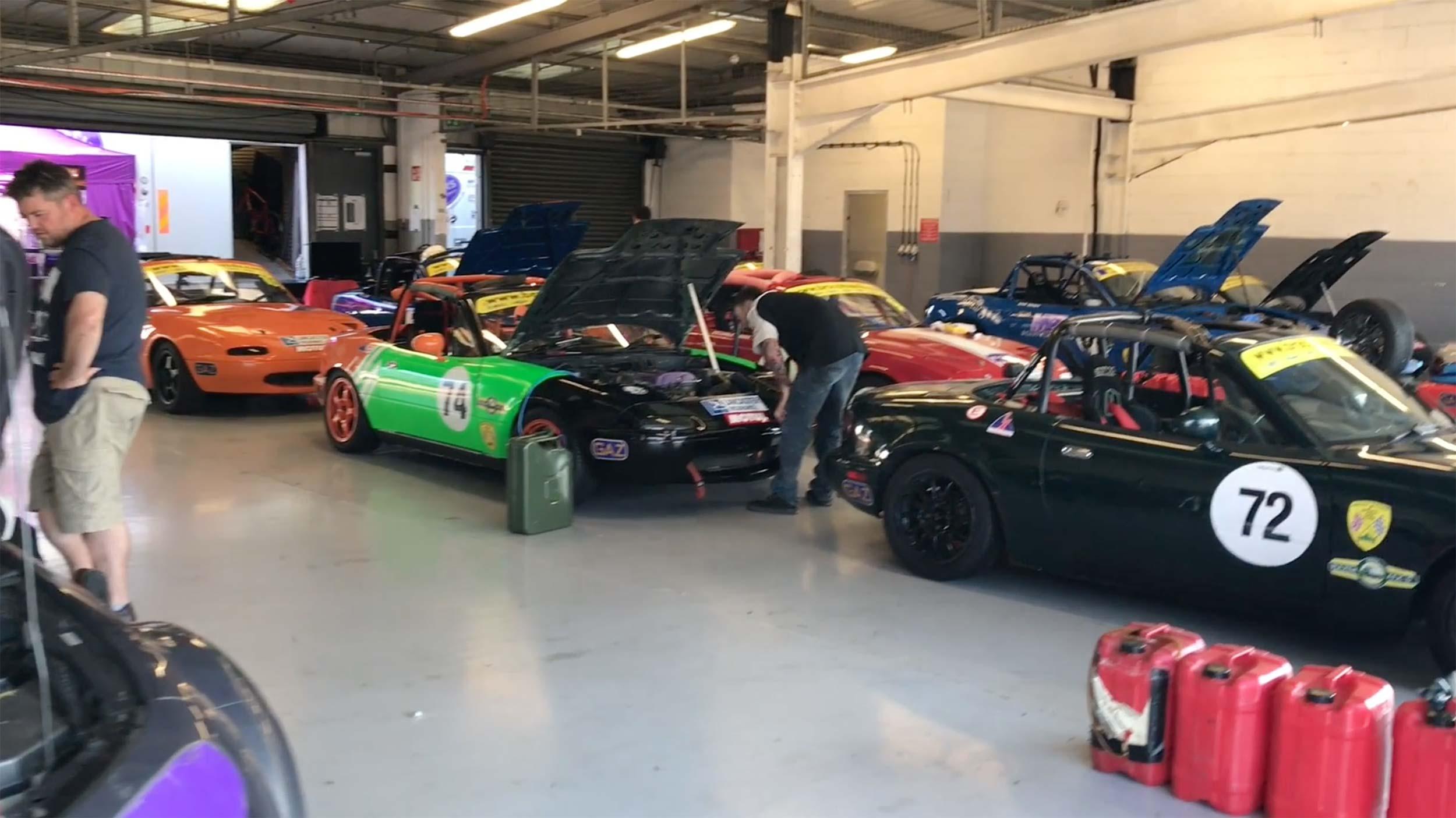 Silverstone Garages 2017