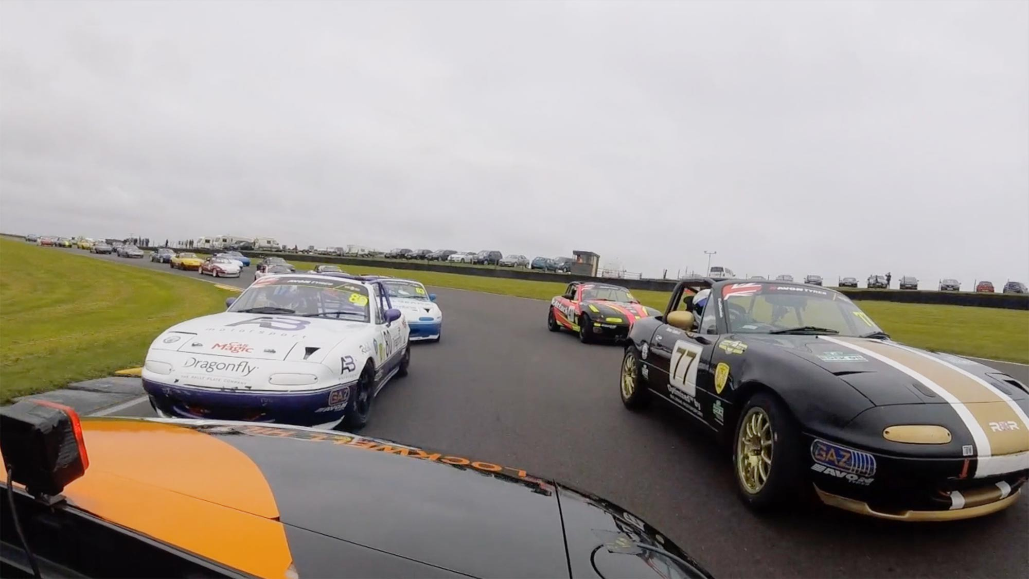 Mazdas at Anglesey 2019