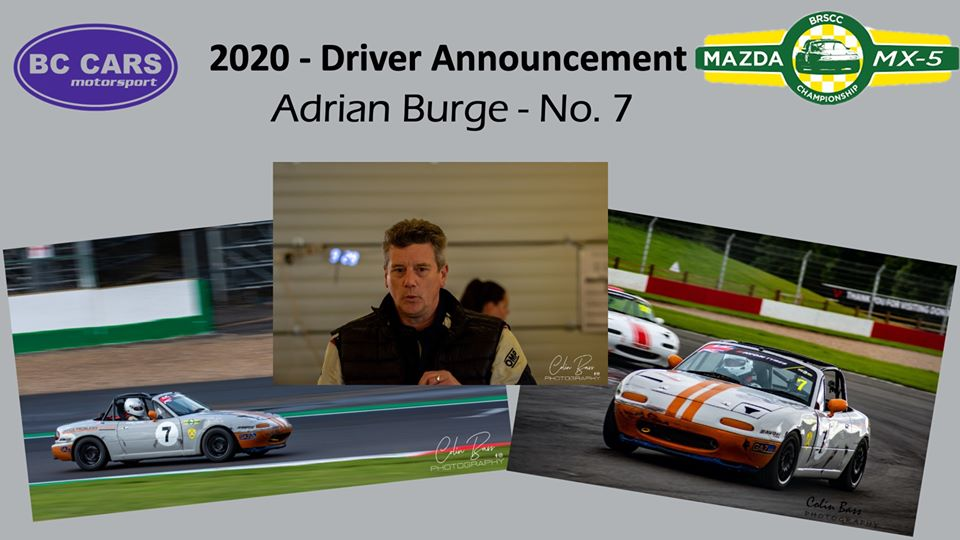 Adrain Burge - driver profile