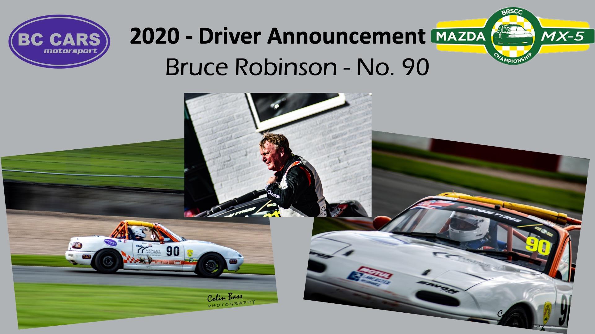 Driver profile - Bruce Robinson