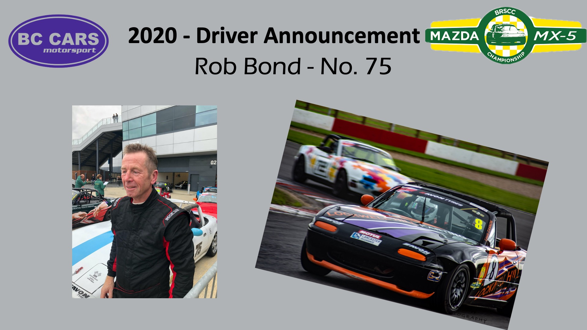 Driver profile - Rob Bond
