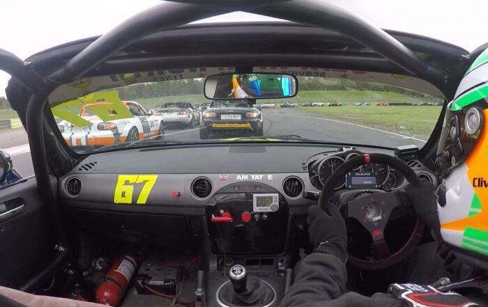 mazda racing at Croft 2021